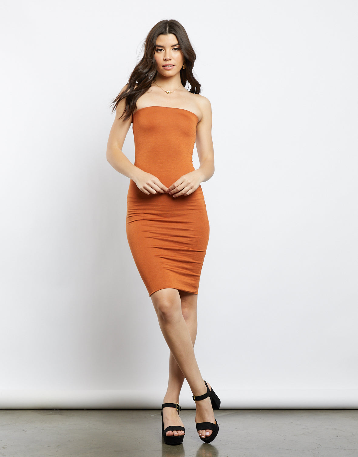 Darling Girl Strapless Tube Dress