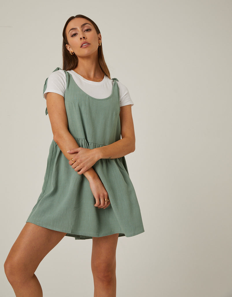 Tie Strap Dress Dresses -2020AVE