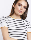 Top of the Line Striped Top