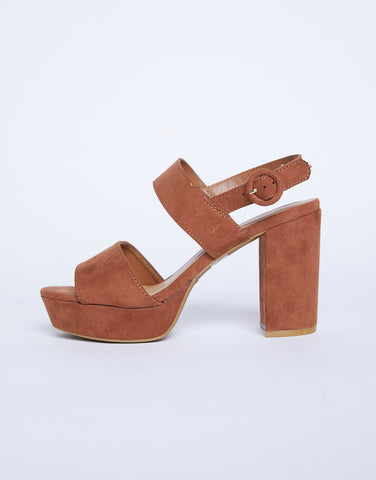 Top Of The World Chunky Heels