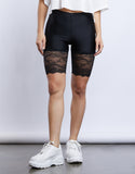 Touch Of Lace Biker Shorts