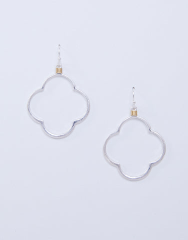 Trefoil Dangle Earrings