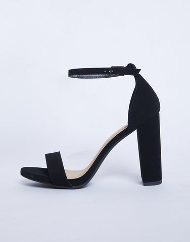 Ultimate Suede Block Heel Sandals