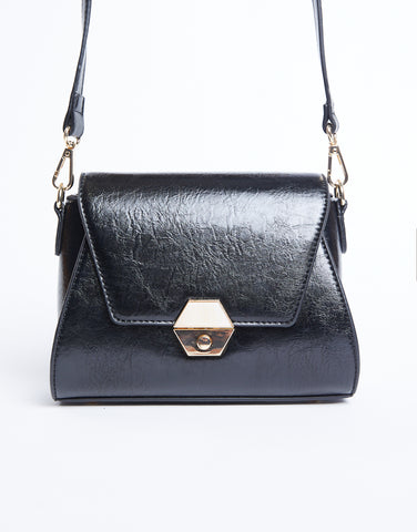Vegan Leather Shoulder Bag