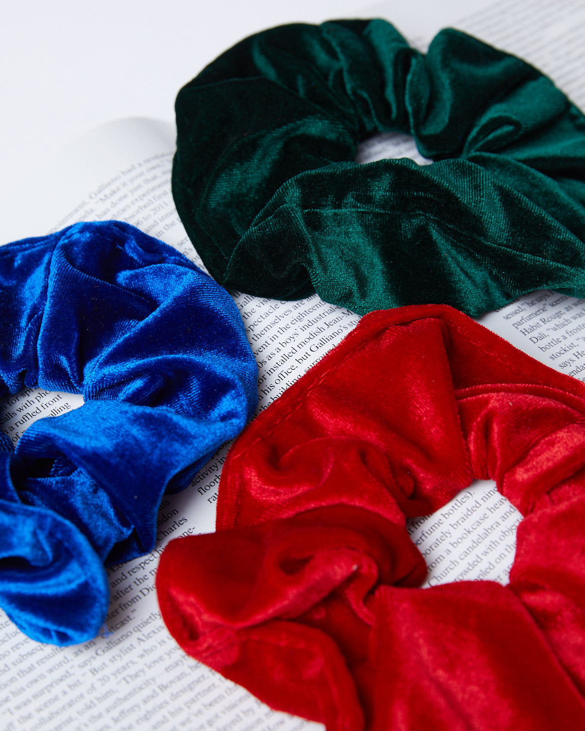 Velvet Dreams Scrunchie