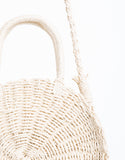West Coast Round Straw Bag
