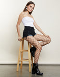 Wide Cut Fishnet Tights