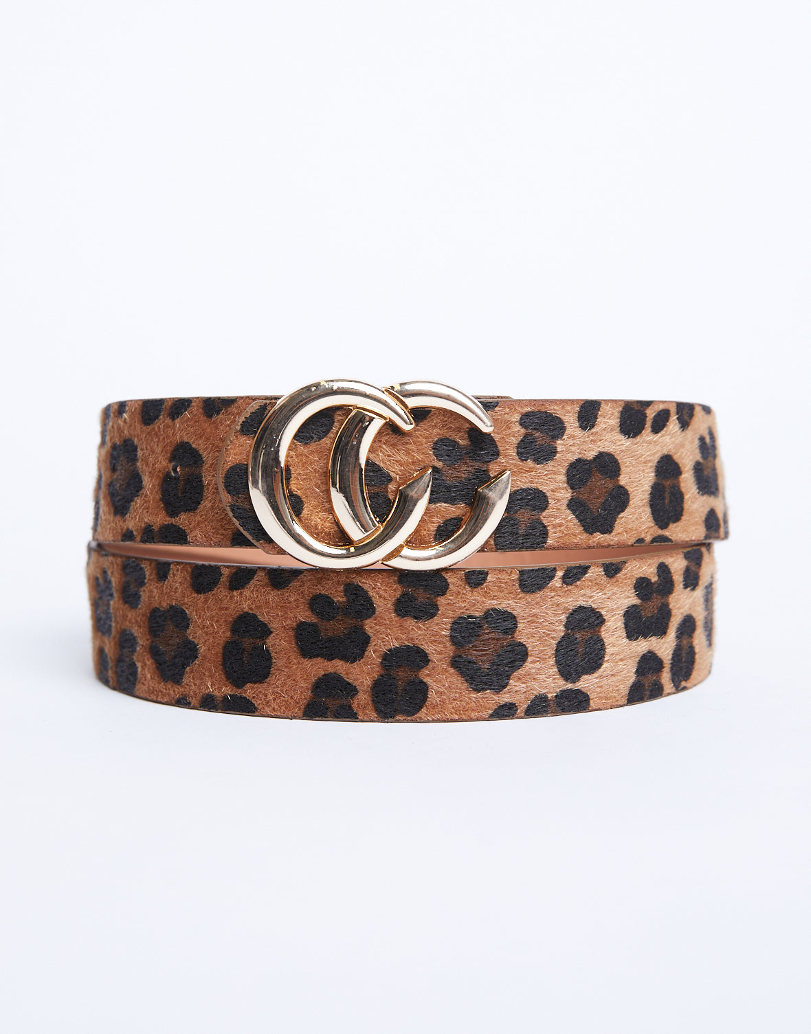 Wild Nights Leopard Belt