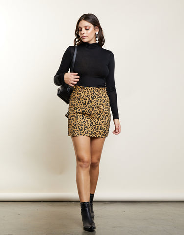 Wild For You Mini Skirt