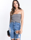 Zoe Rib Knit Tube Top