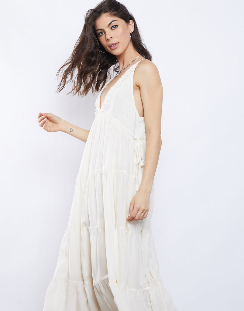 Zoey Tiered Sundress Dresses -2020AVE