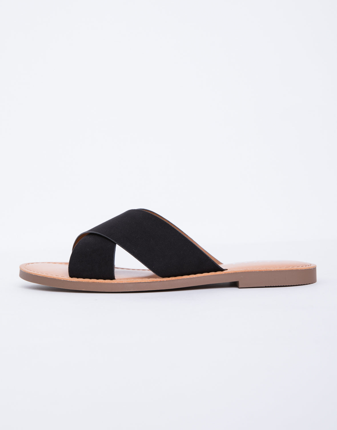 Zoey Cross Band Sandals
