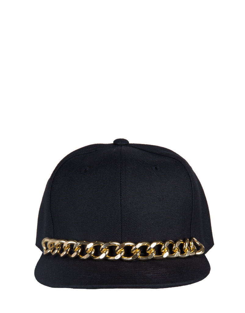 Golden Chained Snapback - 2020AVE