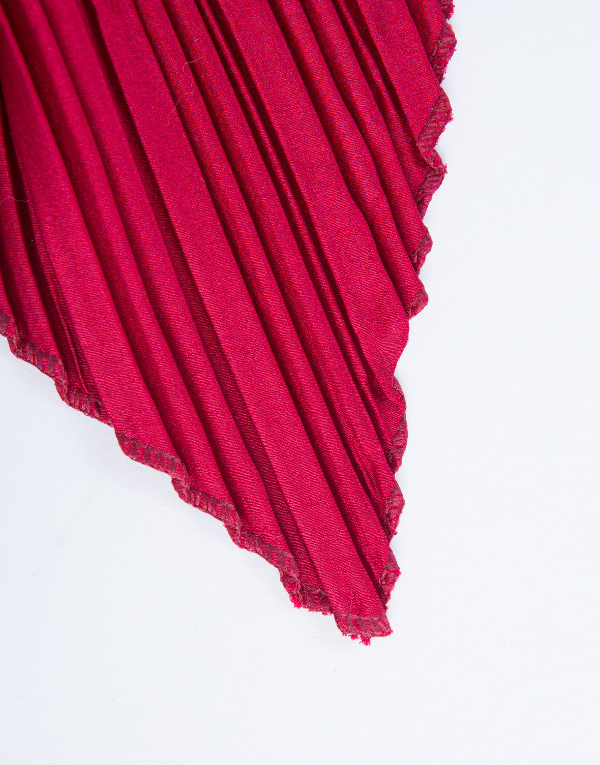 Accordion Pleated Scarf