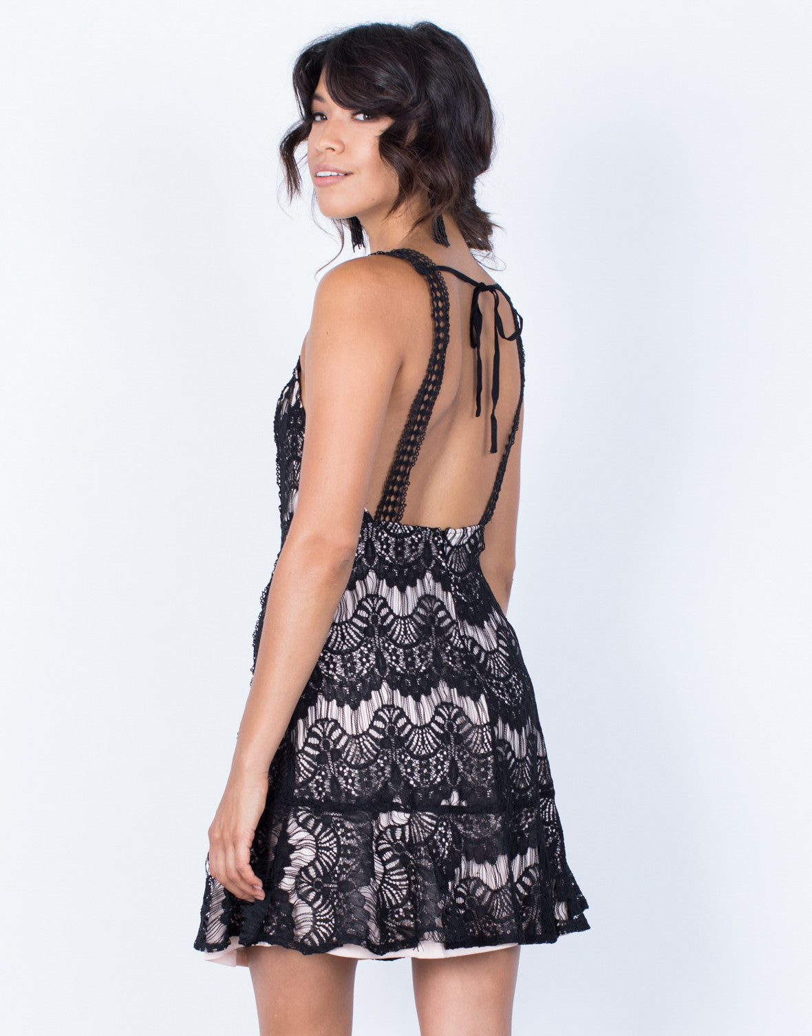 Back View of After Hours Cocktail Dress