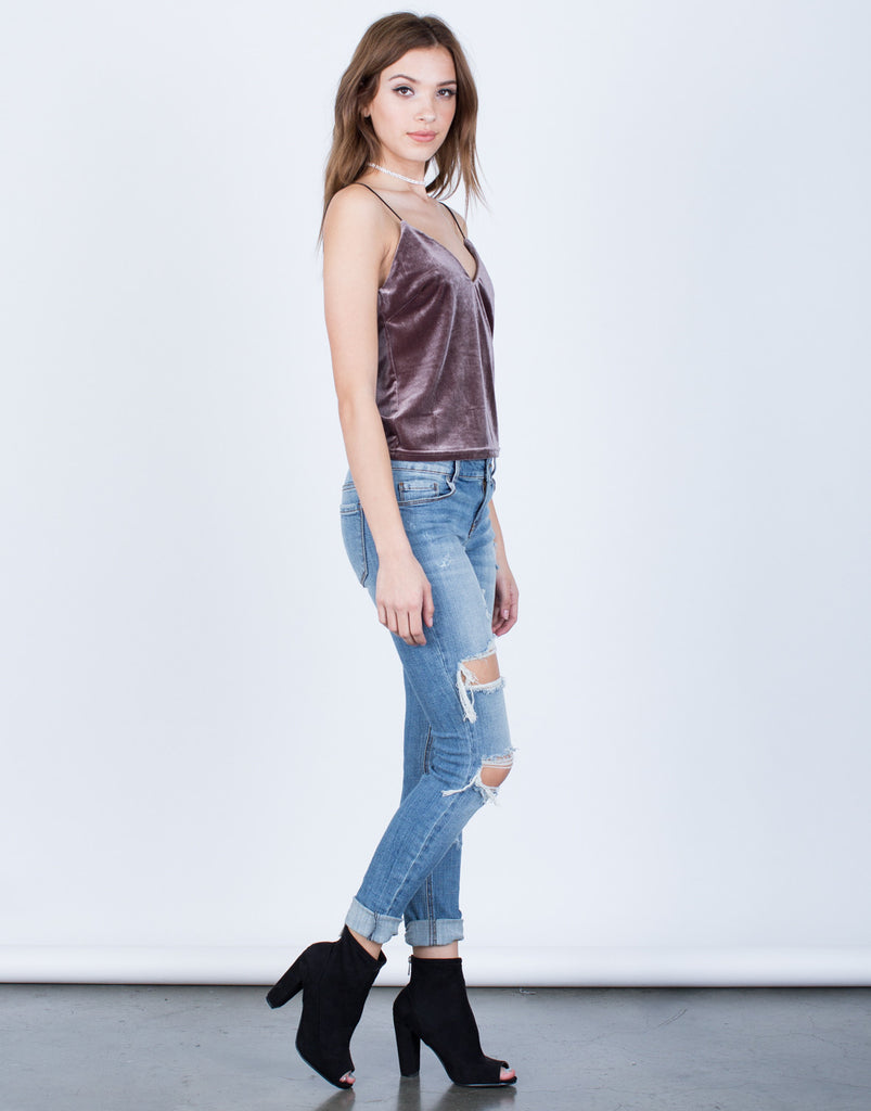 All About Velvet Cami Tops -2020AVE