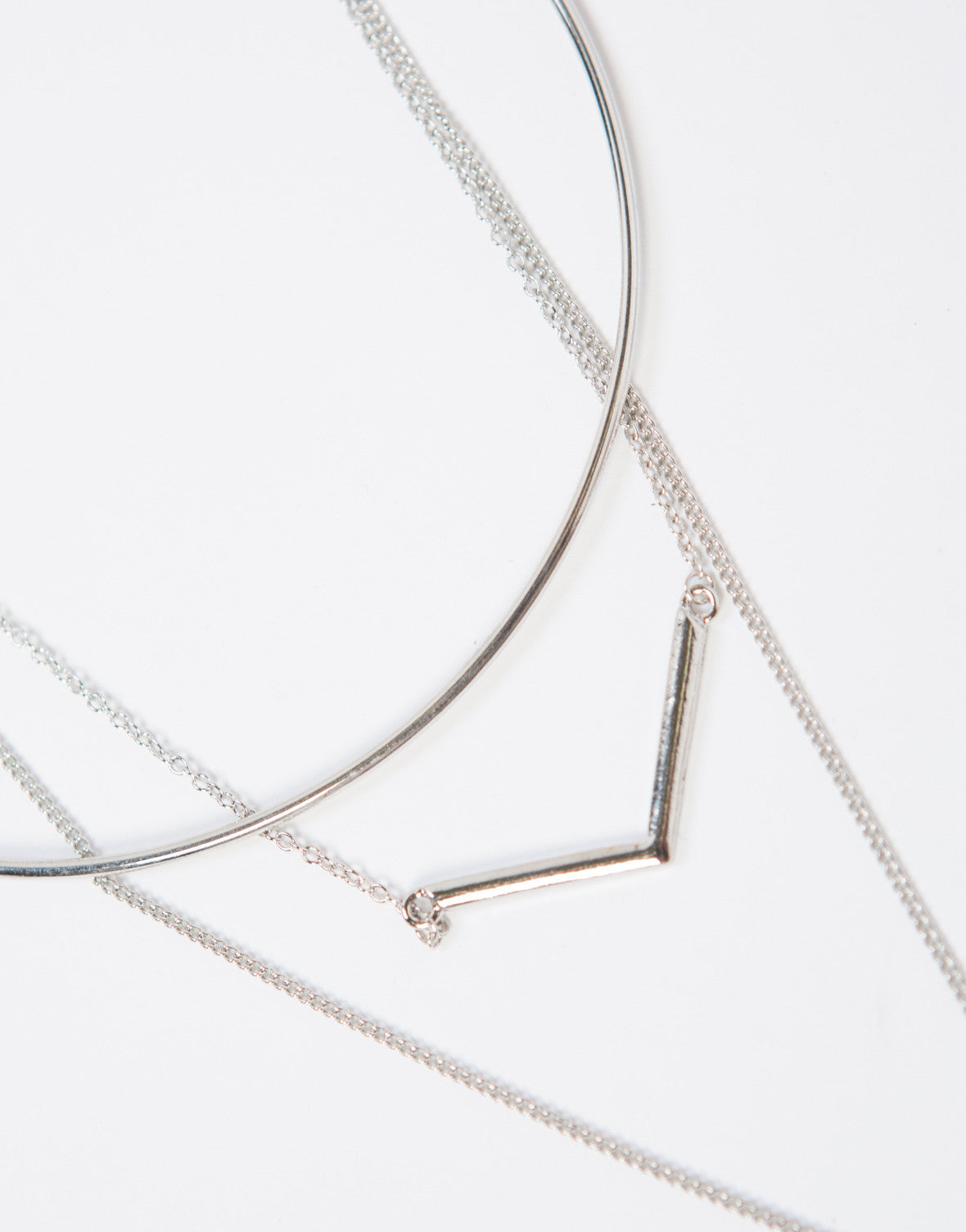 All in Formation Layered Necklace