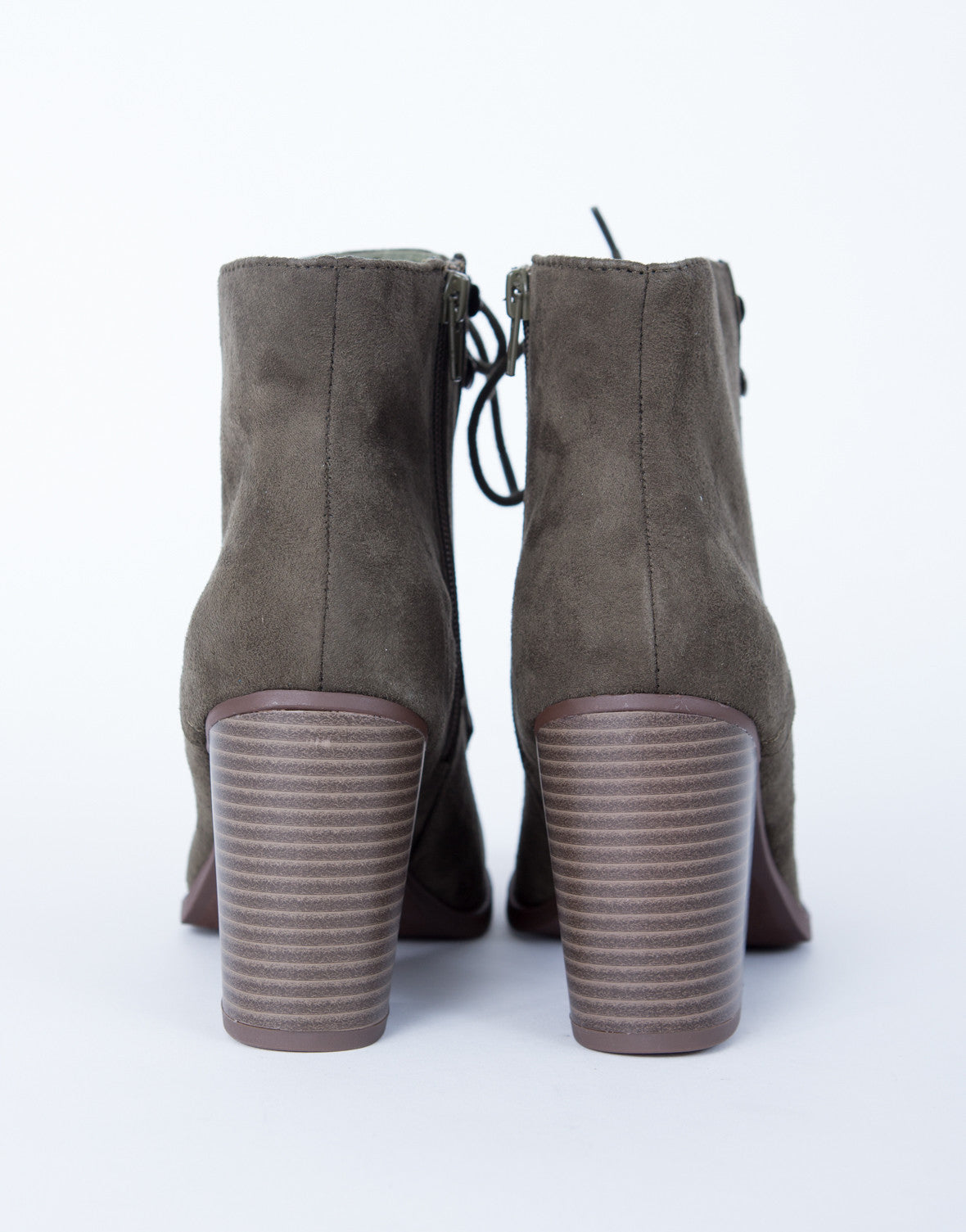 All Laced Up Booties