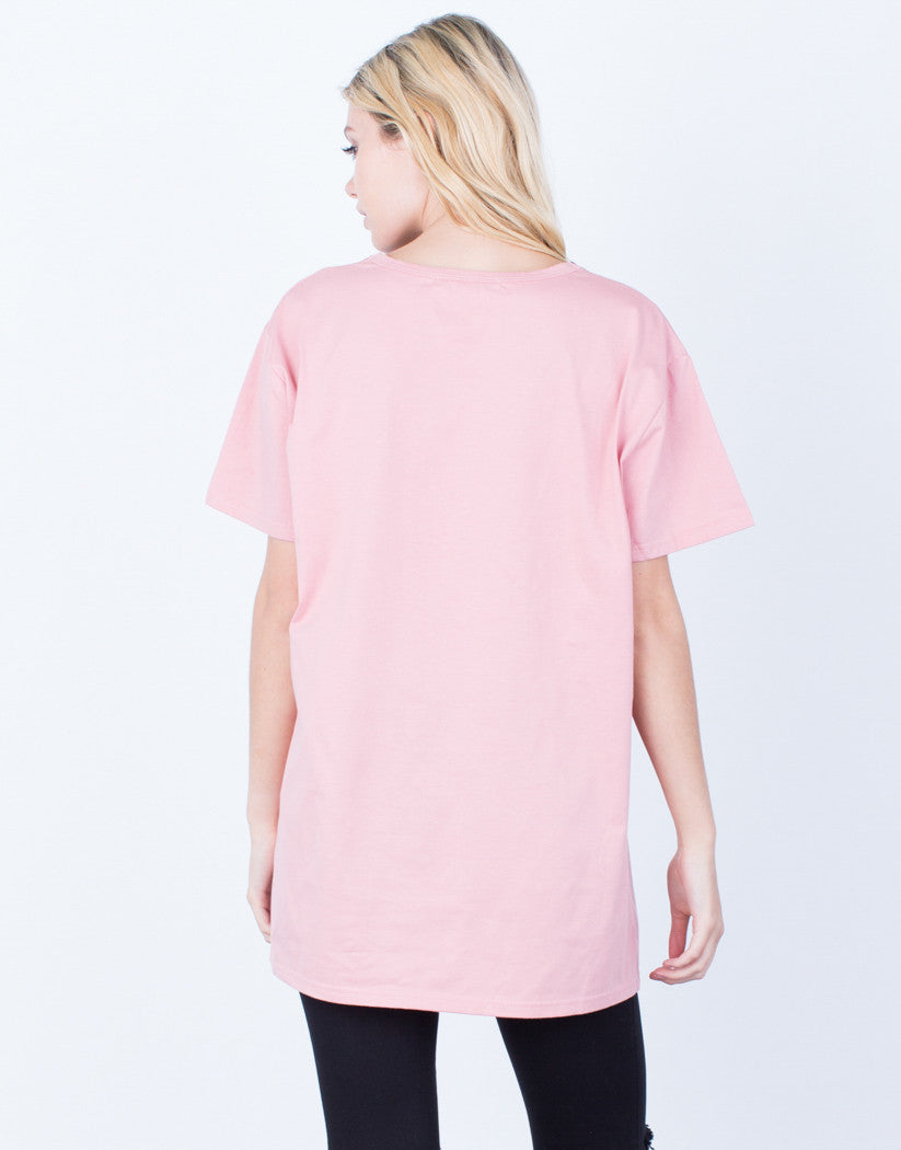 All Lined Up Basic Tee