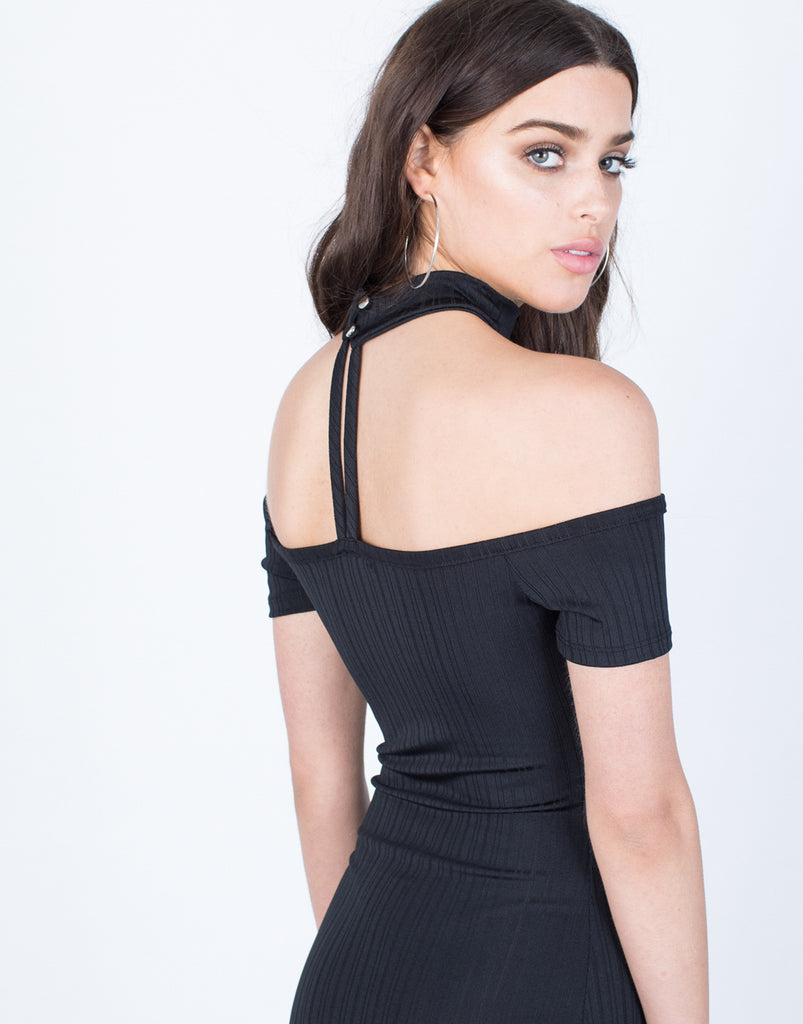 Detail of All Night Choker Dress