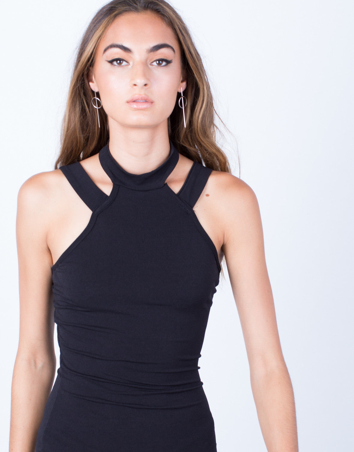 Detail of All Night Long Bodycon Dress