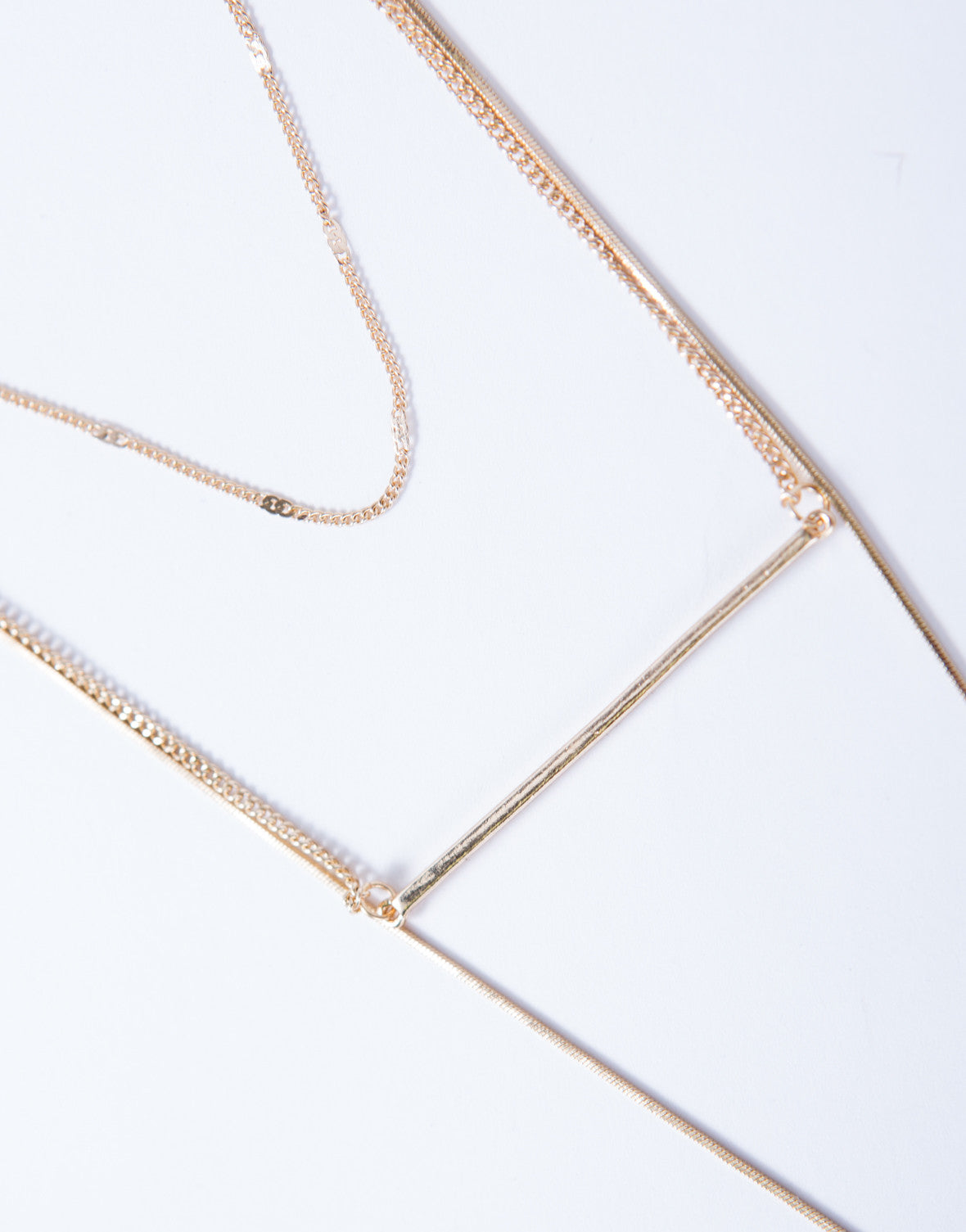 All You Need Layered Necklace