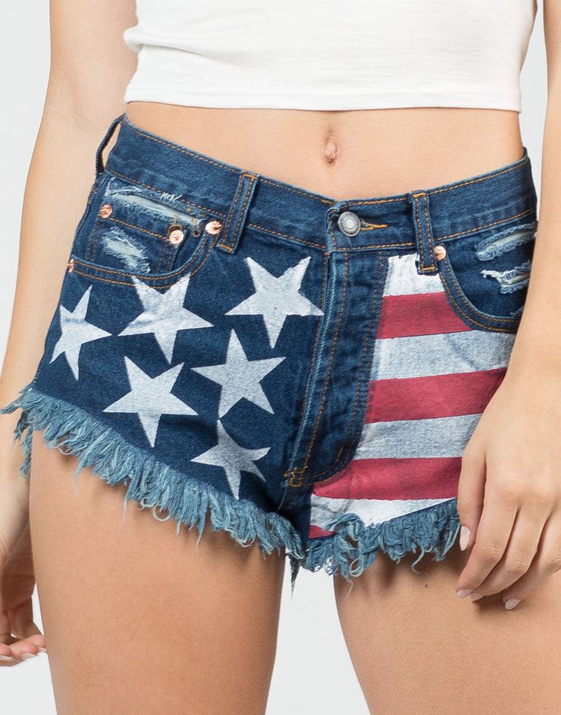 Detail of All American Shorts