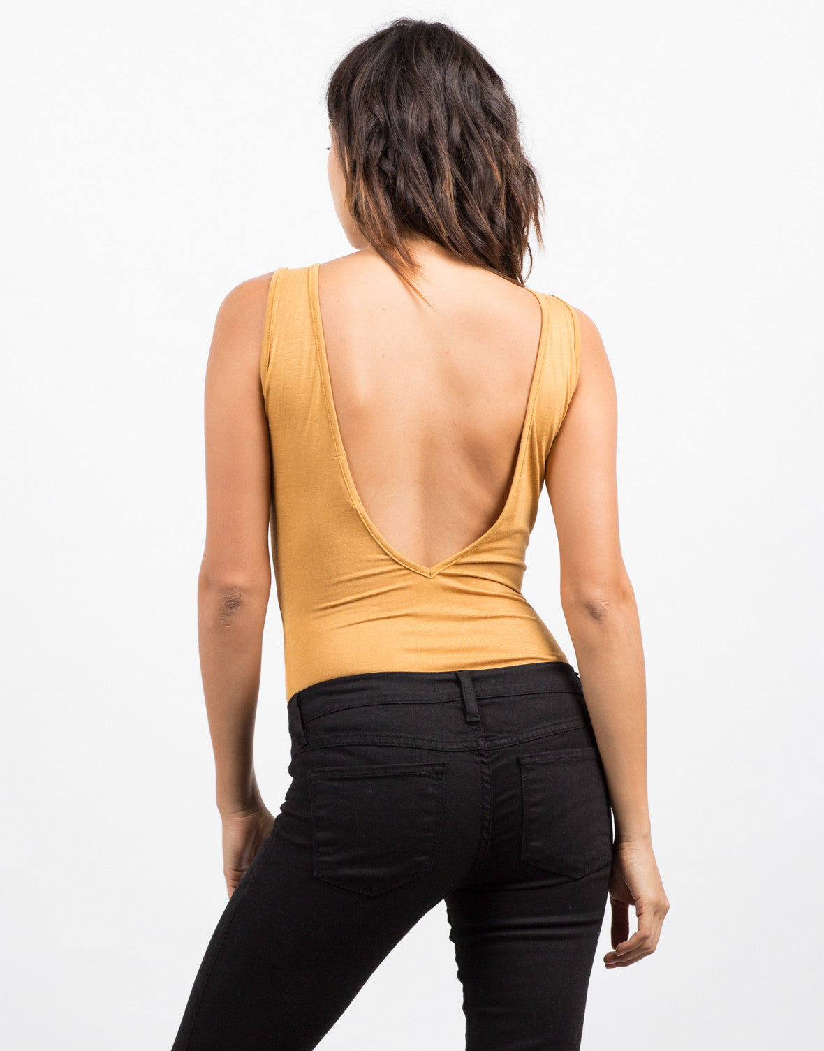 Side View of All Tied Up Tank Bodysuit