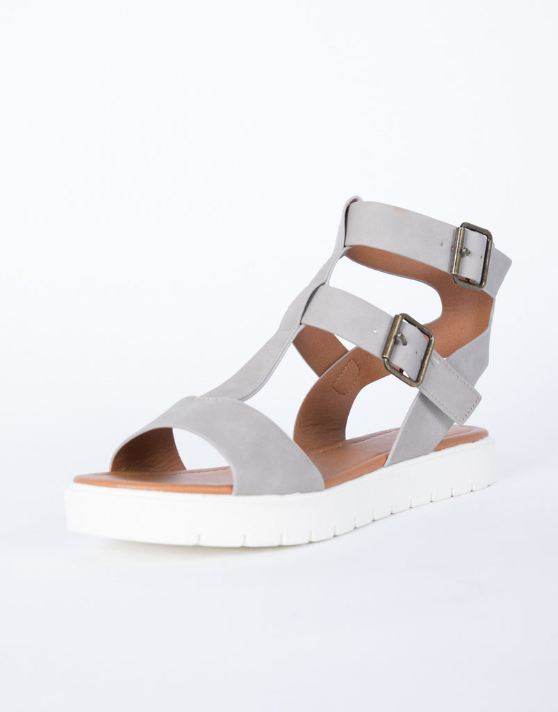 Alethea Caged Sandals