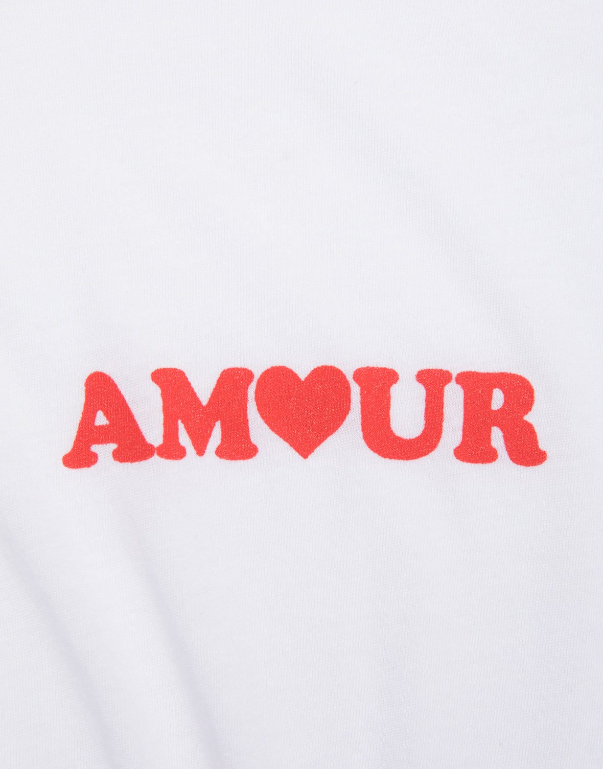Amour Heart Knot Tee