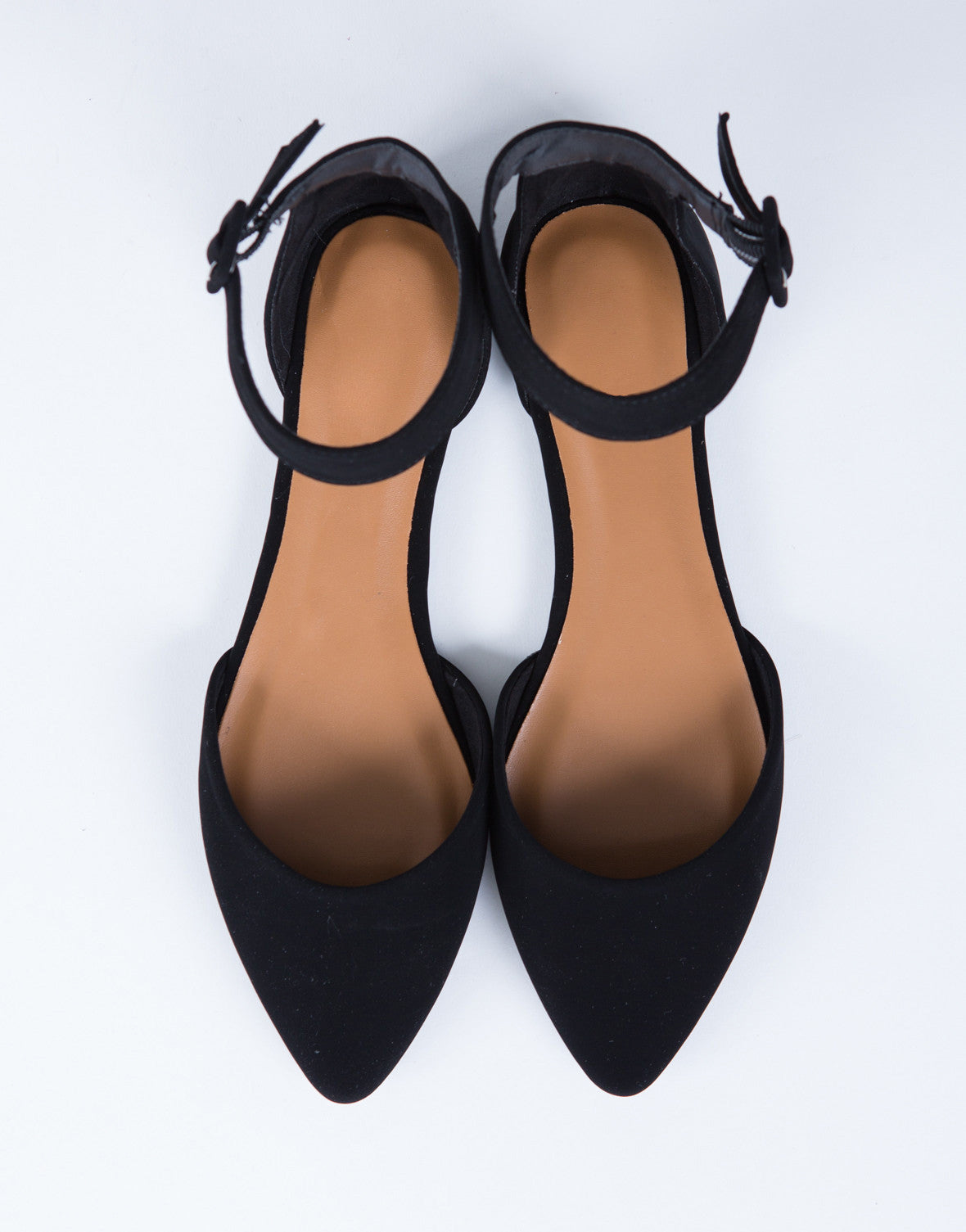 Ankle Strapped Flats