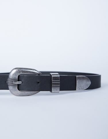 Antique Buckled Waist Belt