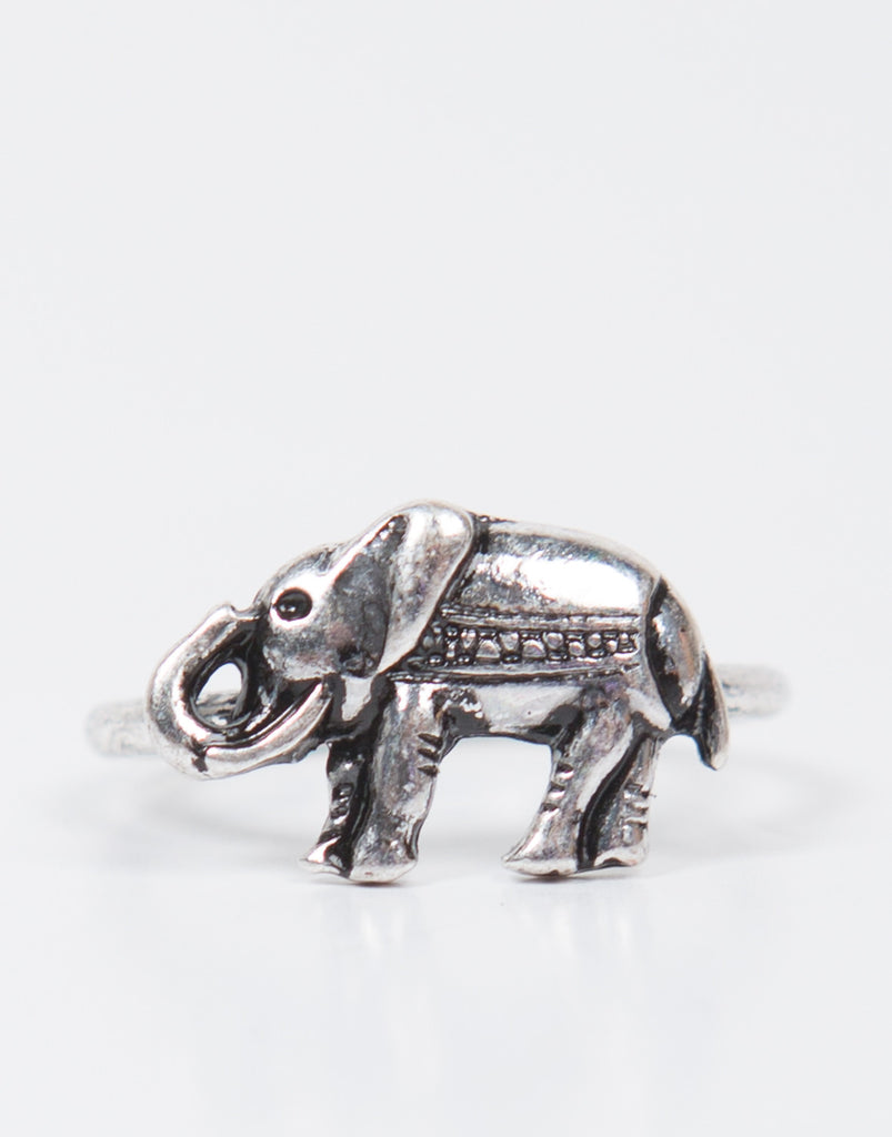 Detail of Antique Elephant Ring