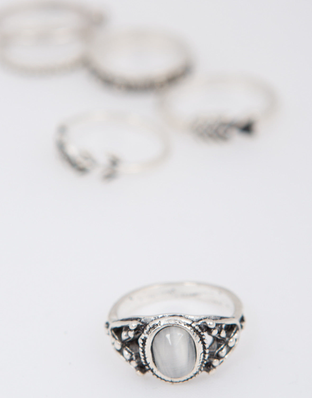 Antique Multi Ring Set