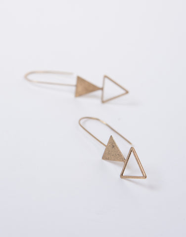 Arrow Hooked Earrings