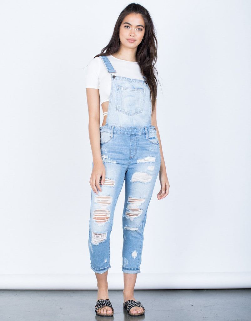 Ashley Denim Overalls Rompers + Jumpsuits -2020AVE