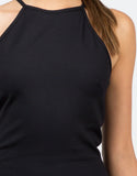 Detail of Asymmetrical Bodycon Dress