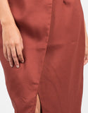 Detail of Asymmetrical Pencil Skirt