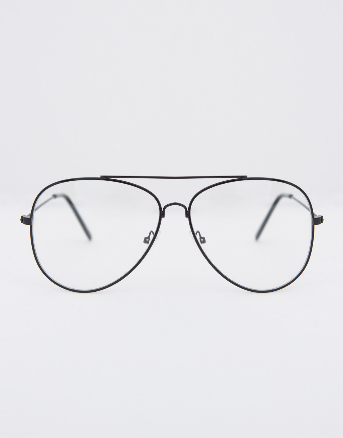 1b8f265fde7 Aviator Clear Glasses - Clear Oversized Glasses - Aviator Glasses – 2020AVE