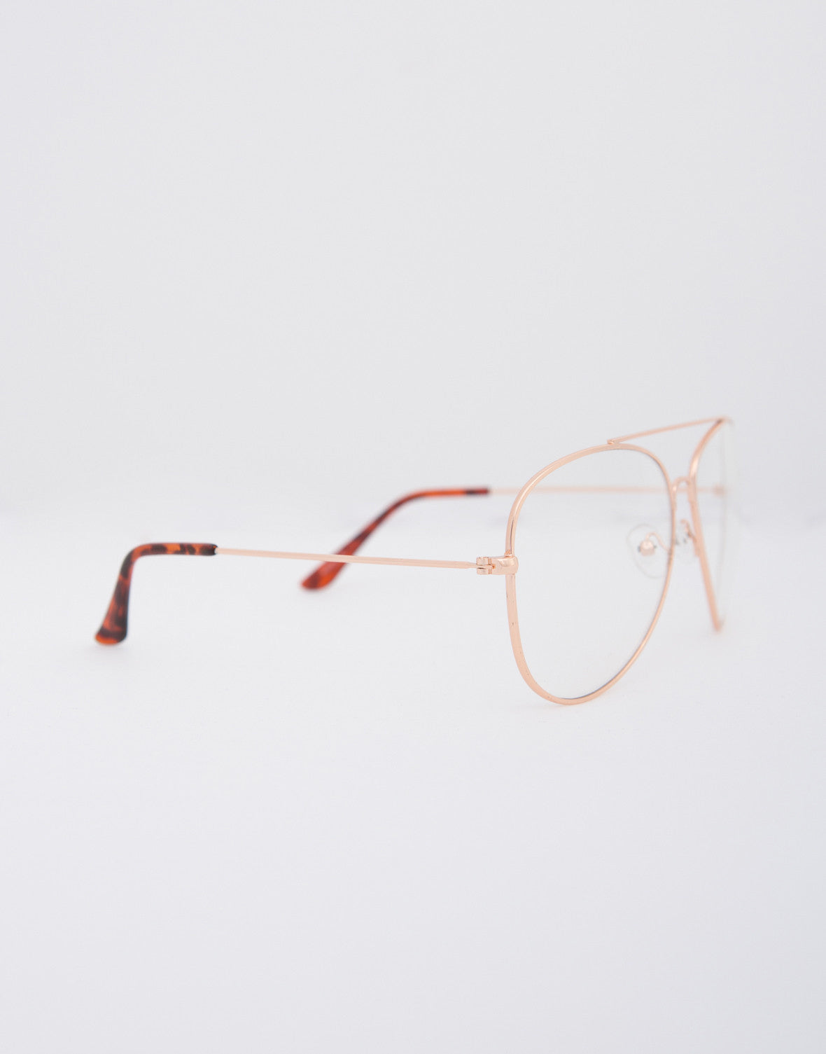 Aviator Clear Glasses