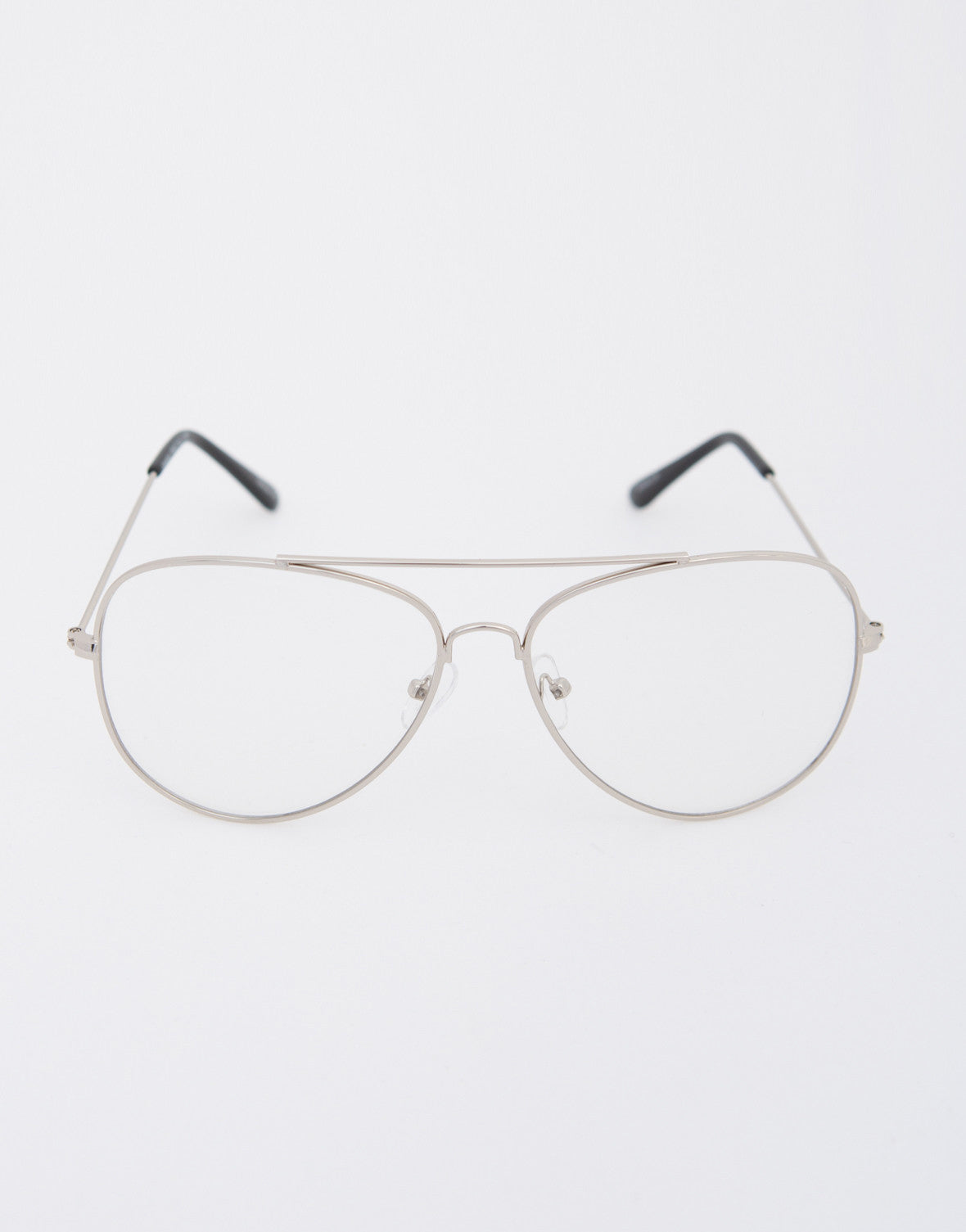 3dd9c13ad27 Aviator Clear Glasses - Clear Oversized Glasses - Aviator Glasses ...