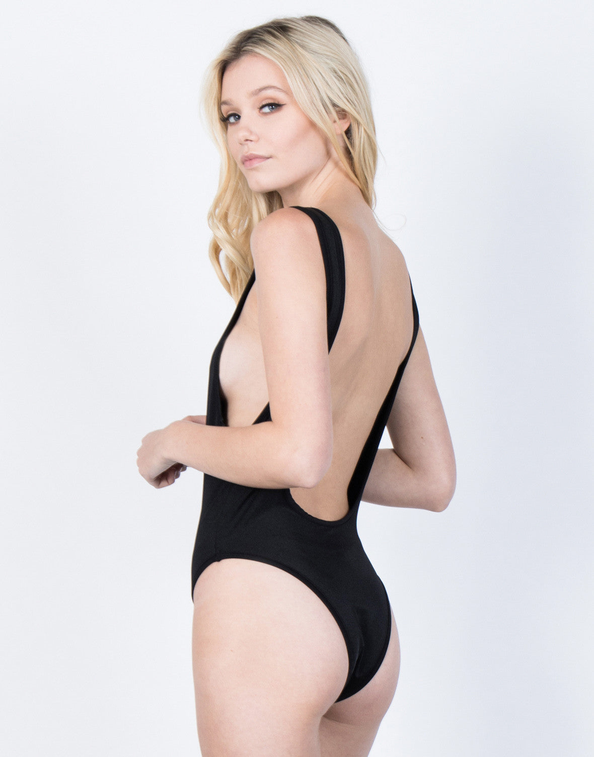 Back View of Babewatch Swimsuit