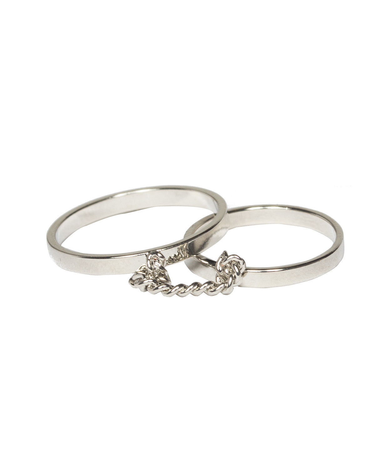 Banded Chain Double Ring