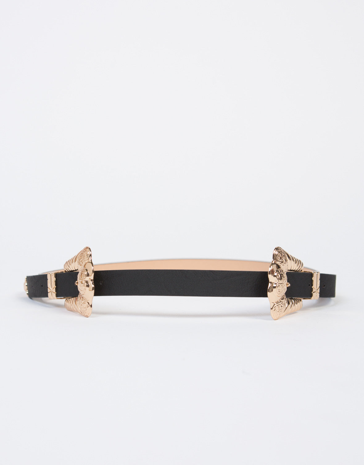 Baroque Double Buckle Belt