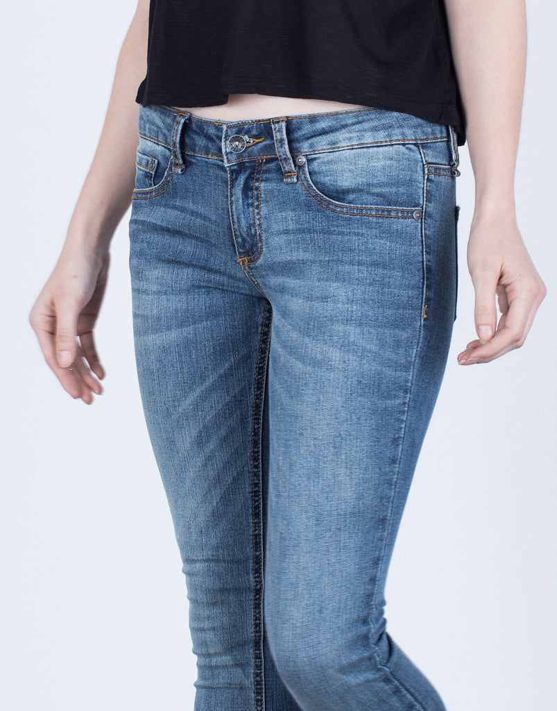 Detail of Basic Skinny Jeans