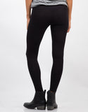 Back View of Basic Stirrup Leggings
