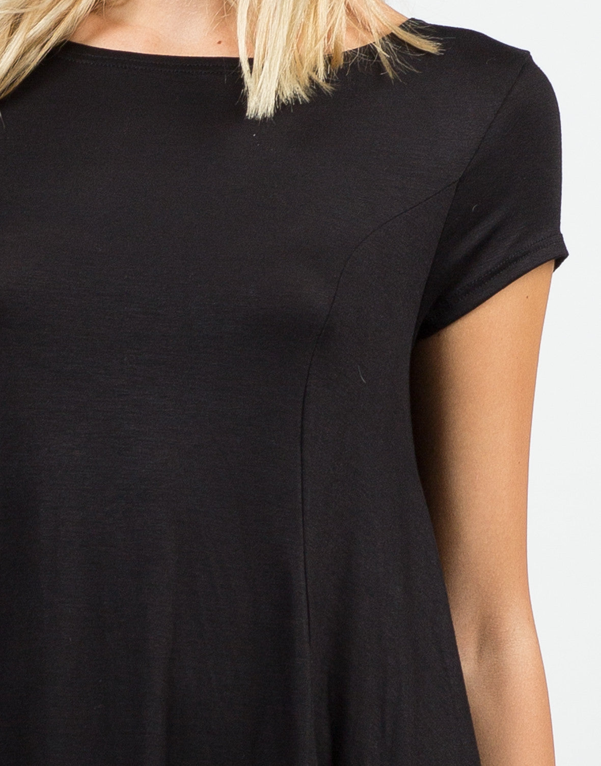 Detail of Basic Tunic Top