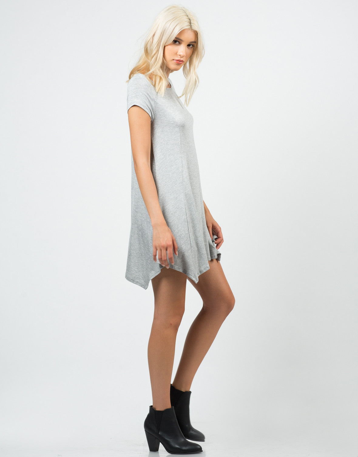 Side View of Basic Tunic Top