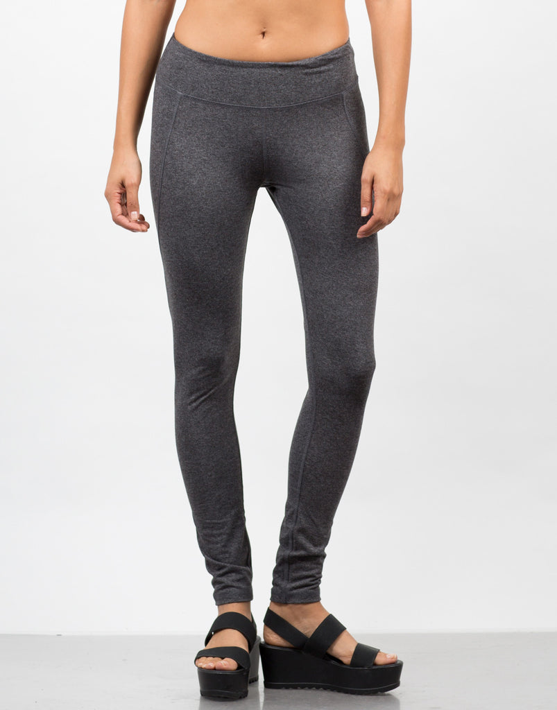 Front View of Basic Workout Leggings