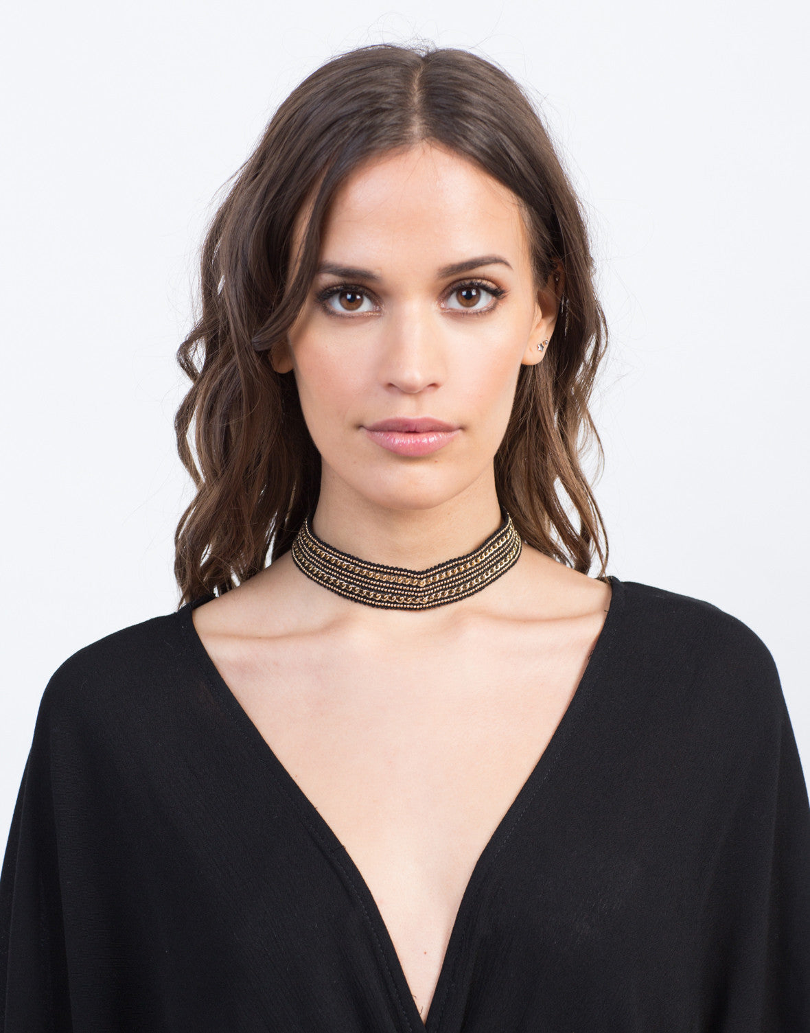 Beads and Chains Choker